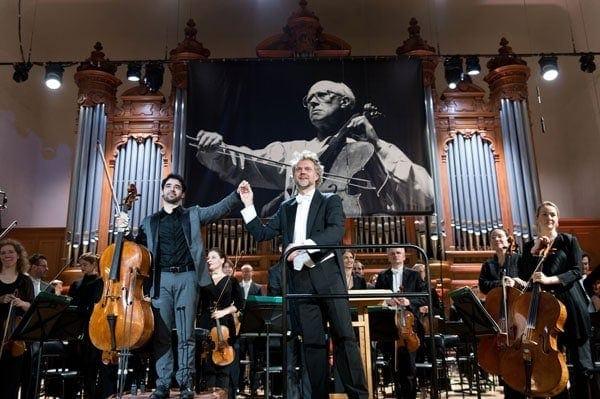 Пабло Феррандес и Томас Сондергаард,. Фото - Анатолий Львович