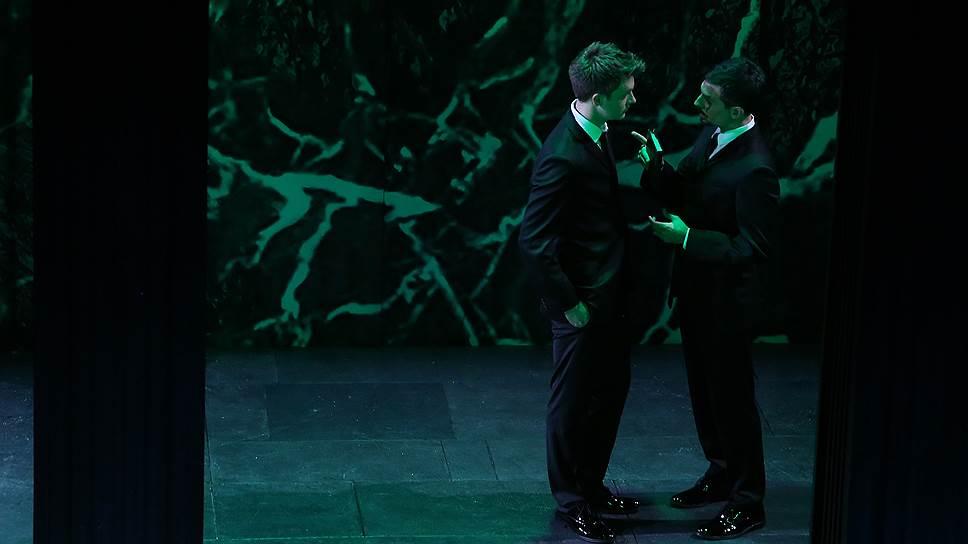 Оратория «Триумф Времени и Бесчувствия» в постановке К. Богомолова. Фото - Илья Долгих