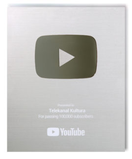 YouTube присудил телеканалу «Культура» «Серебряную кнопку»