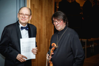 Владимир Контарев и Юрий Башмет. Фотто - Андрей Колабухин