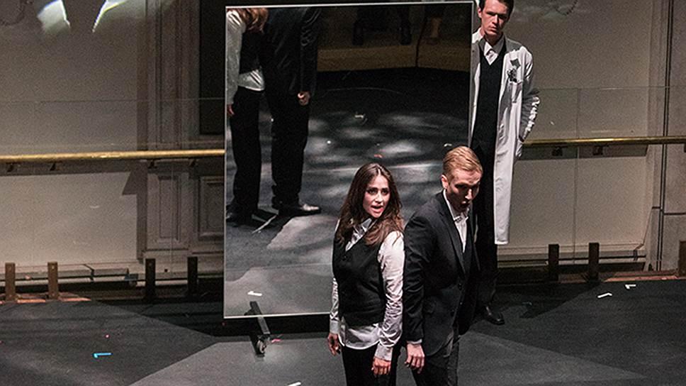 В Бетховенском зале Большого театра показали результаты работы лаборатории для молодых режиссеров и певцов. Фото - Павел Рычков