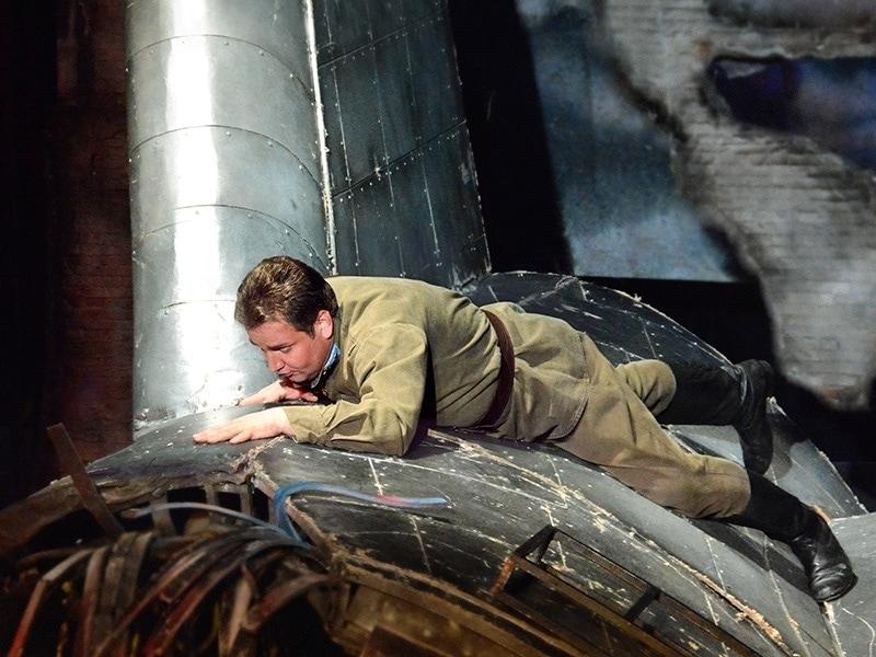 В театре «Геликон-опера» пройдет cпектакль «Упавший с неба», посвященный ветеранам.