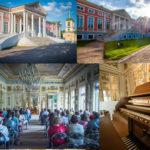 До 25 августа 2018 в музее-усадьбе Кусково в Москве в девятый раз проходит летний музыкальный фестиваль «Органные вечера в Кусково»