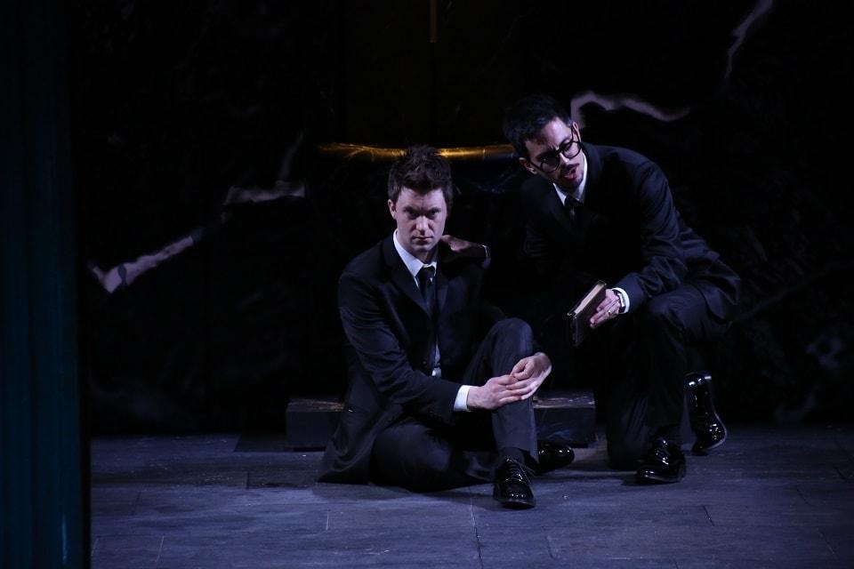 Филипп Матман (Красота), Хуан Санчо (Время). Фото - Илья Долгих