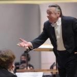 Марис Янсонс во время концерта Симфонического оркестра Баварского радио в концертном зале имени П.И. Чайковского, май 2018. Фото - Глеб Щелкунов