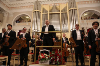 Марис Янсонс и Оркестр Баварского радио в Санкт-Петербурге. Фото - Стас Левшин