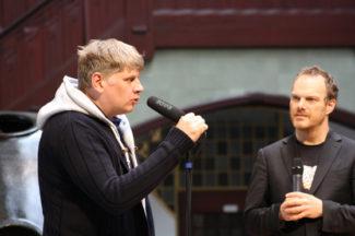 Сергей Невский и Ларс Фогт. Фото - Hubert Breuer
