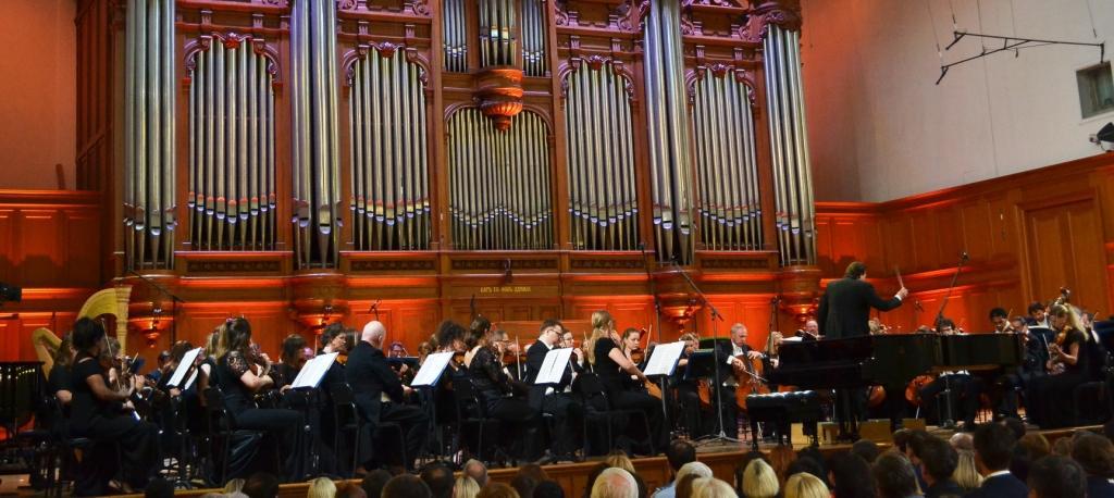 Датский королевский оркестр под управлением Александра Ведерникова выступил в Москве
