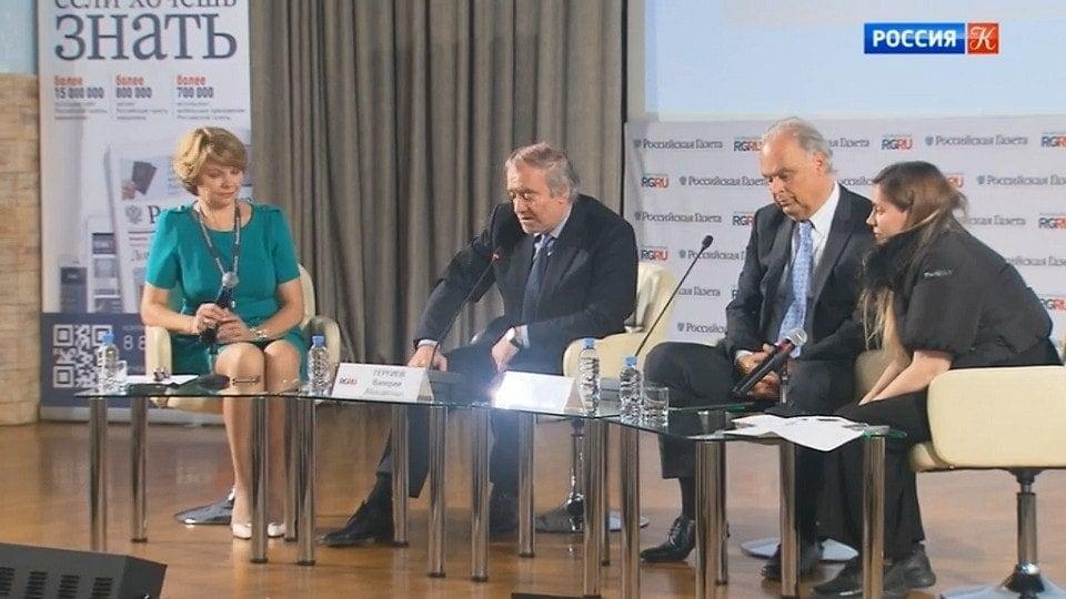 Пресс-конференция Валерия Гергиева и Мартина Энгстрема к юбилею Verbier festival