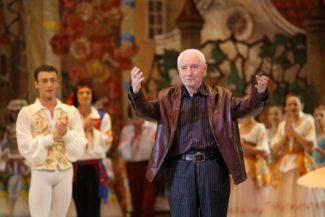 grigorovich 325x217 - Театр балета Юрия Григоровича представил новый хореографический проект
