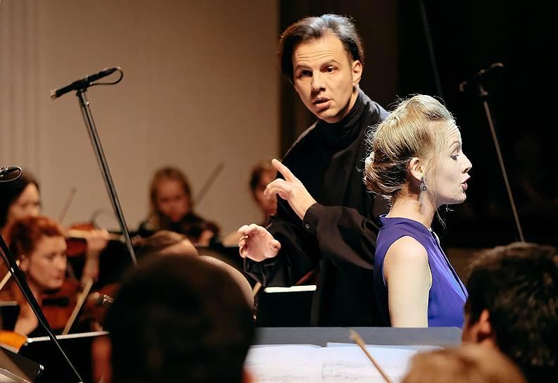 Анна Люсия Рихтер и Теодор Курентзис. Фото - Марина Дмитриева