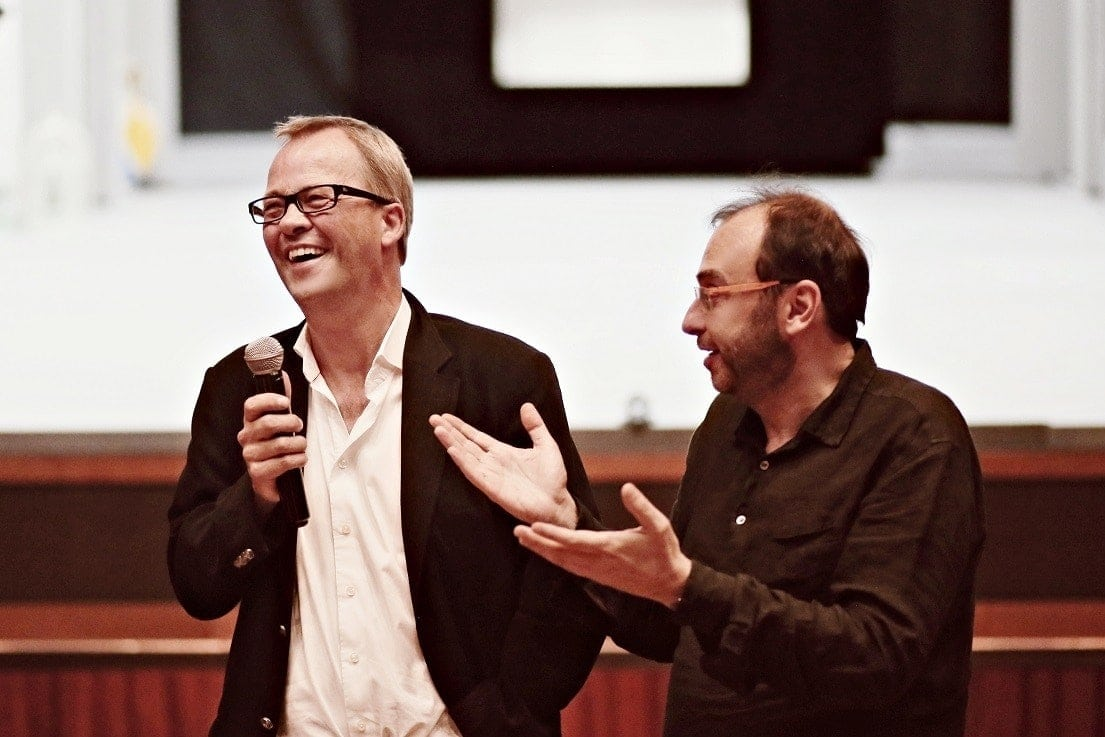 Кристоф Майер и Дмитрий Бертман. Фото - Ирина Шымчак