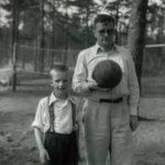 Дмитрий Шостакович с сыном Максимом
