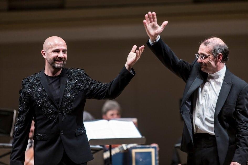 Макс Эммануэль Ценчич и Александр Рудин. Фото - Ира Полярная