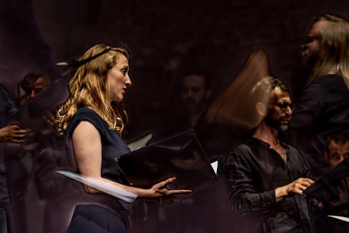 Ансамбль старинной музыки «Graindelavoix». Фото - Гюнай Мусаева