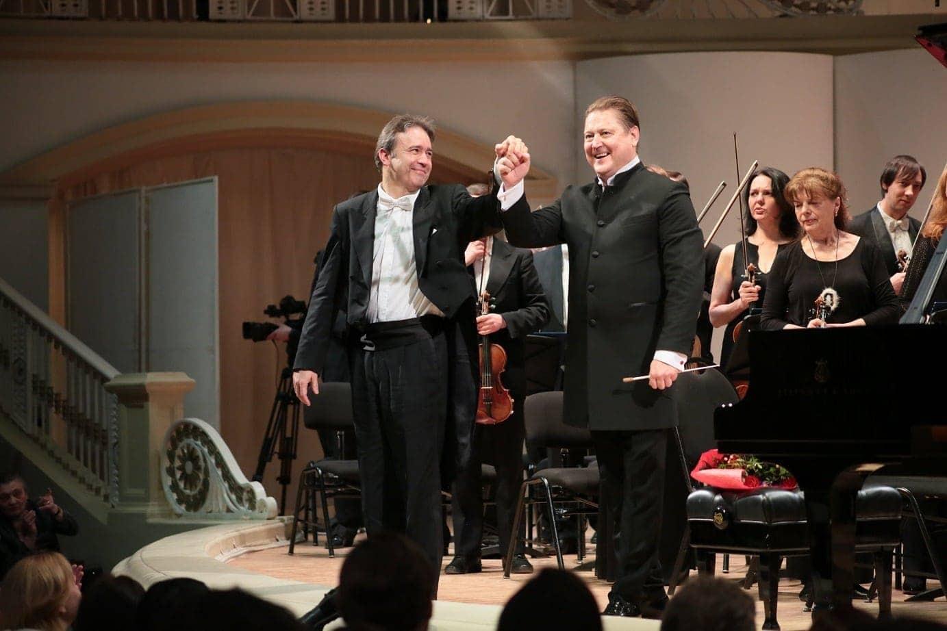 Алексей Володин и Александр Сладковский. Фото - Ирина Шымчак