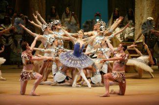 """Светлана Захарова в балете """"Дочь фараона"""". Фото - Дамир Юсупов"""