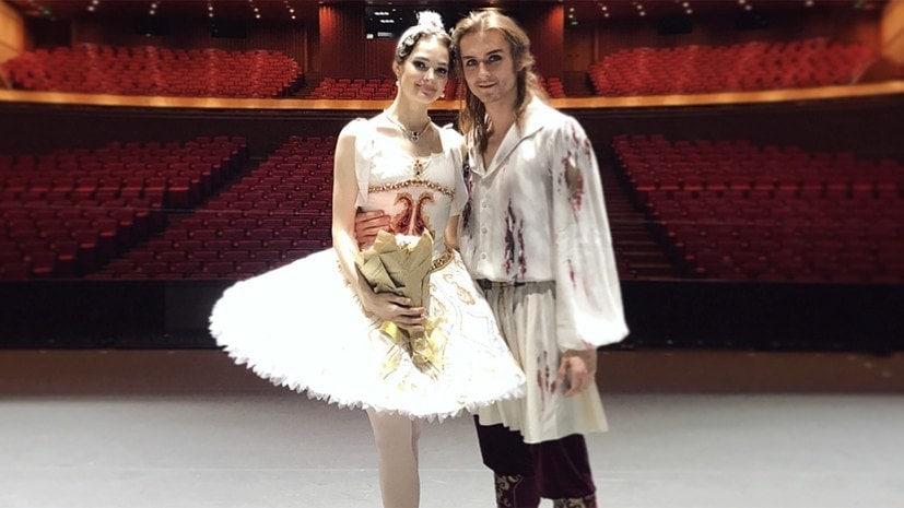 Денис Родькин и Элеонора Севенард