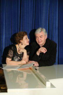 Татьяна Куинджи и Алексей Гориболь