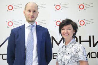 Евгений Стодушный и Елена Мироненко