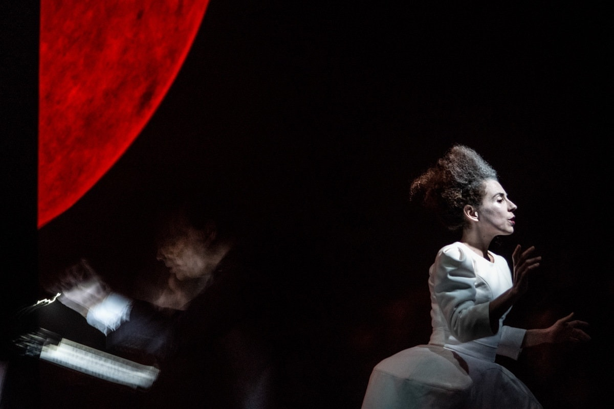 «Лунный Пьеро» Шенберга. Фото - Гюнай Мусаева