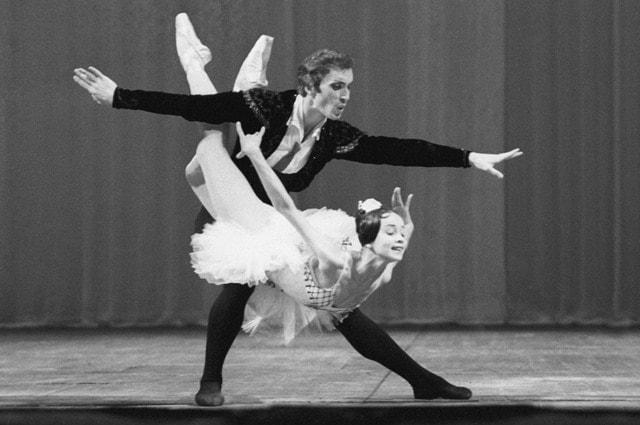 Надежда Павлова и Вячеслав Гордеев, 1973 год. Фото - РИА Новости/ Александр Макаров