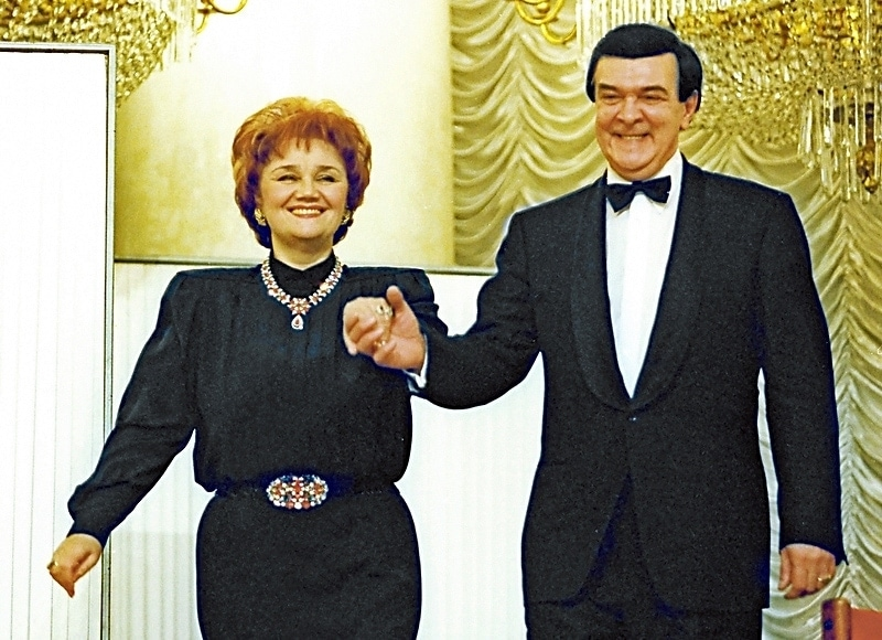 Тамара Синявская и Муслим Магомаев. Фото - Владимир Федоренко / РИА Новости