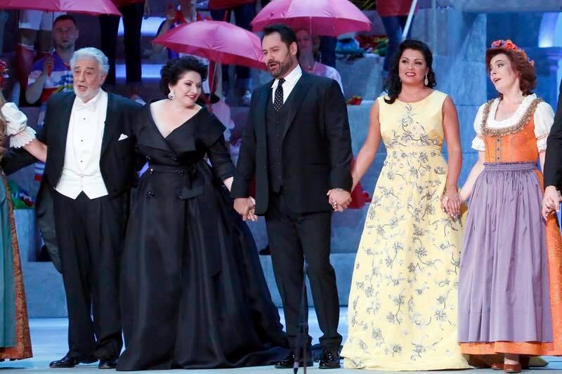 Гала-концерт в Большом театре, посвященный окончанию Чемпионата мира по футболу. Фото - facebook.com