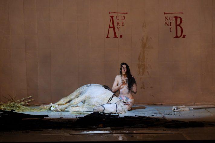 На Дягилевском фестивале в Перми показали ораторию Артюра Онеггера «Жанна на костре». Фото - Сергей Завьялов