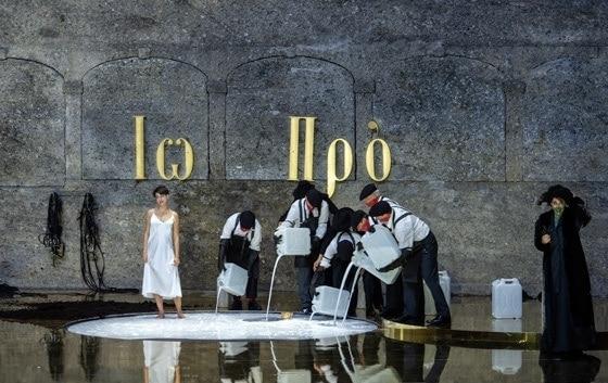 Сцена из оперы «Саломея». Фото - Salzburger Festspiele / Ruth Walz