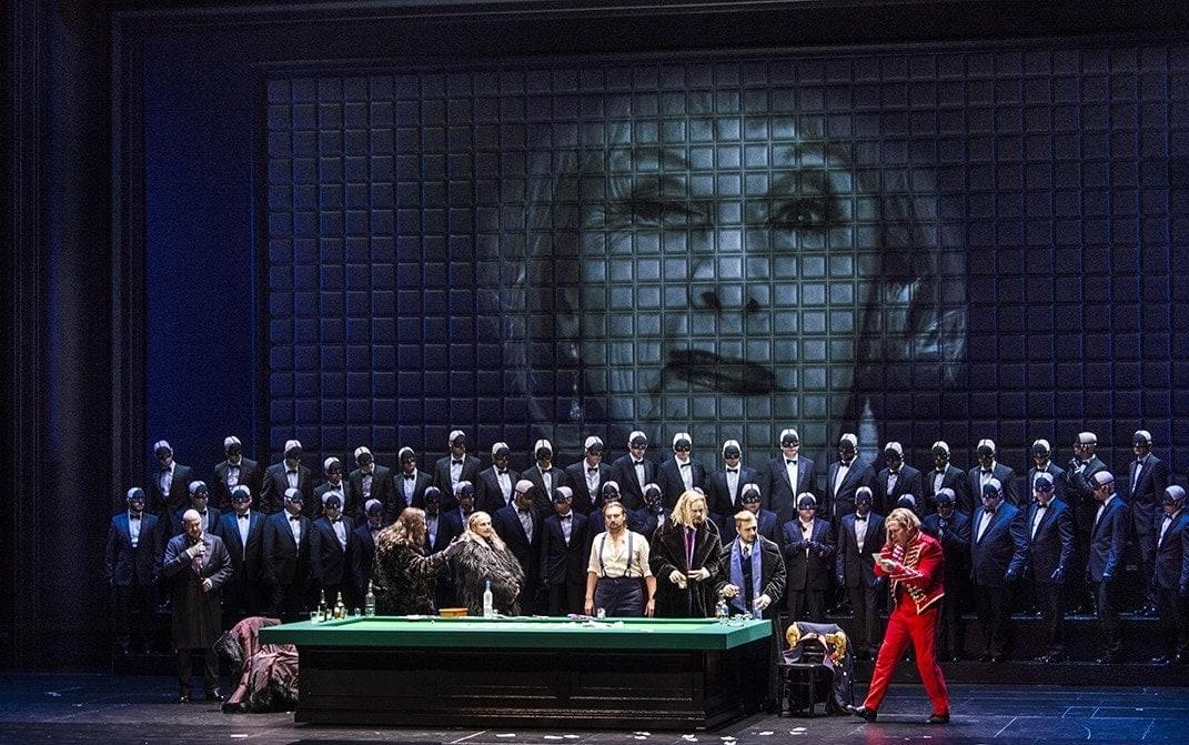 """""""Пиковая Дама"""" П. И. Чайковского. Фото - Salzburger Festspiele / Ruth Walz"""