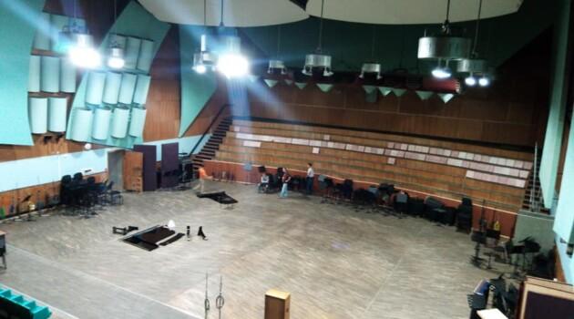 Пятая студия ГДРЗ в процессе демонтажа. Фото - Юлий Ягудин