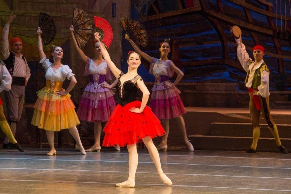 Виктория Дедюлькина. Фото - пресс-служба Челябинского театра