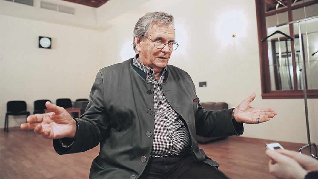 Владимир Федосеев. Фото - ИЗВЕСТИЯ/Александр Казаков
