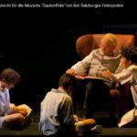 """На фестивале в Зальцбурге ‒ """"Волшебная флейта"""" с цирковыми трюками"""