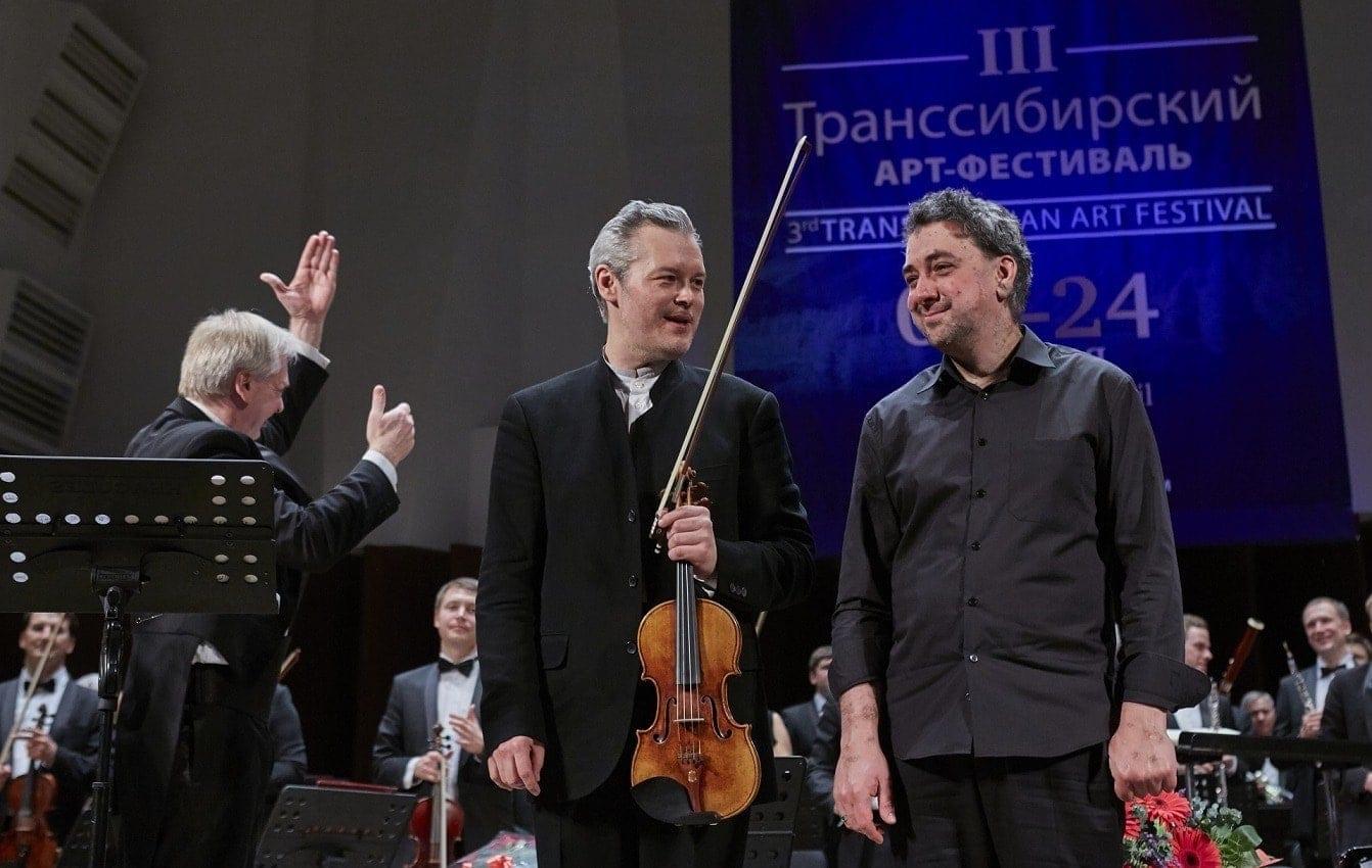 Вадим Репин и Константин Лифшиц. Фото - Александр Иванов