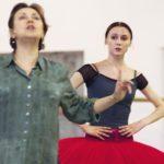 Людмила Семеняка и Светлана Захарова на репетиции. Фото - Владимир Вяткин