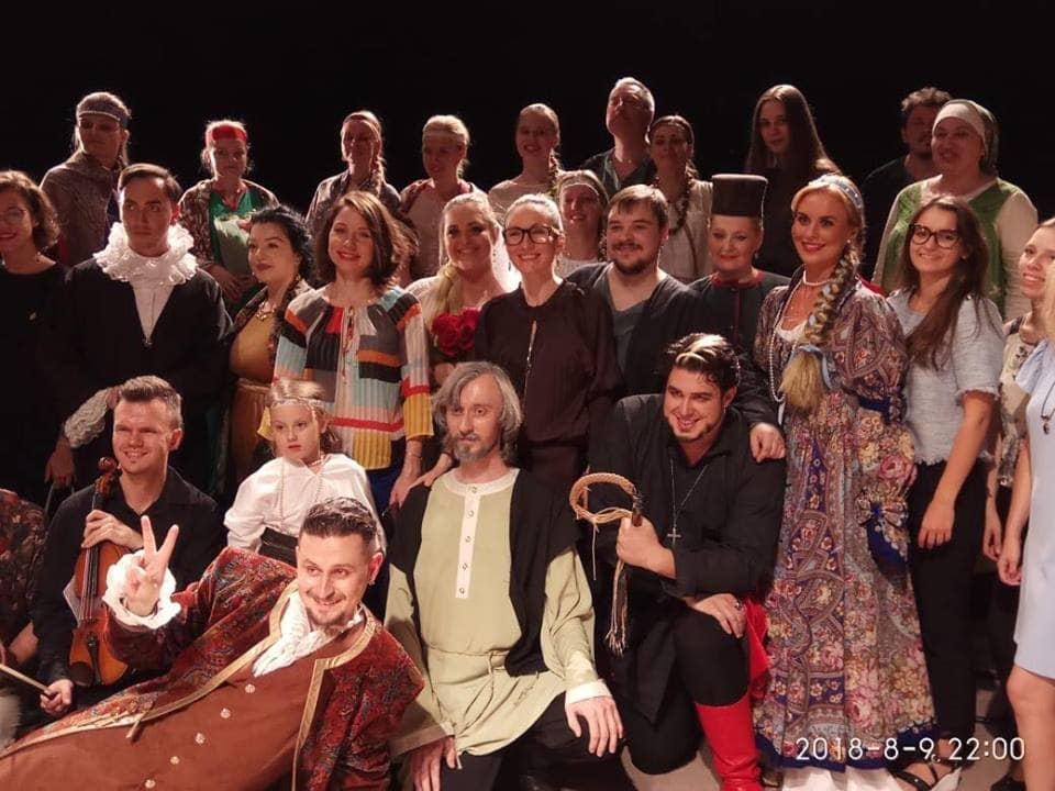 """Участники творческой лаборатории """"Новый оперный мир"""" представили """"Царскую невесту"""". Фото - facebook.com"""