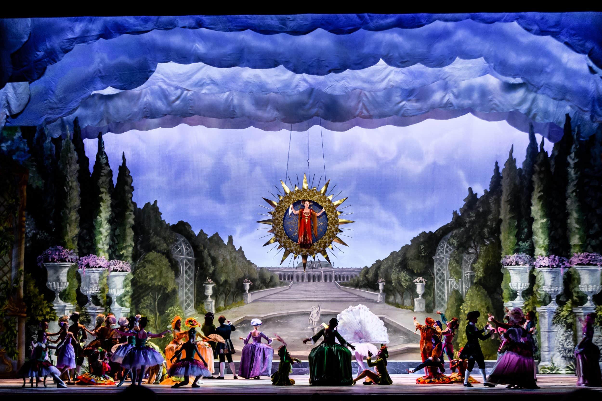 "Сцена из балета ""Хрустальный дворец"""