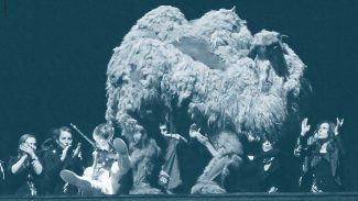 «Среда» Карлхайнца Штокхаузена, Оперная компания Бирмингема, 2012 год. Фото - Jerome Kohl