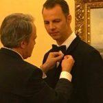Посол Греции вручил худруку Пермской оперы Теодору Курентзису Орден Феникса