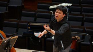 Участник Международного конкурса дирижеров имени Светланова Хаоран Ли (Китай)