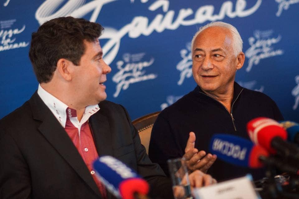 Денис Мацуев и Владимир Спиваков. Фото - Яна Ушакова