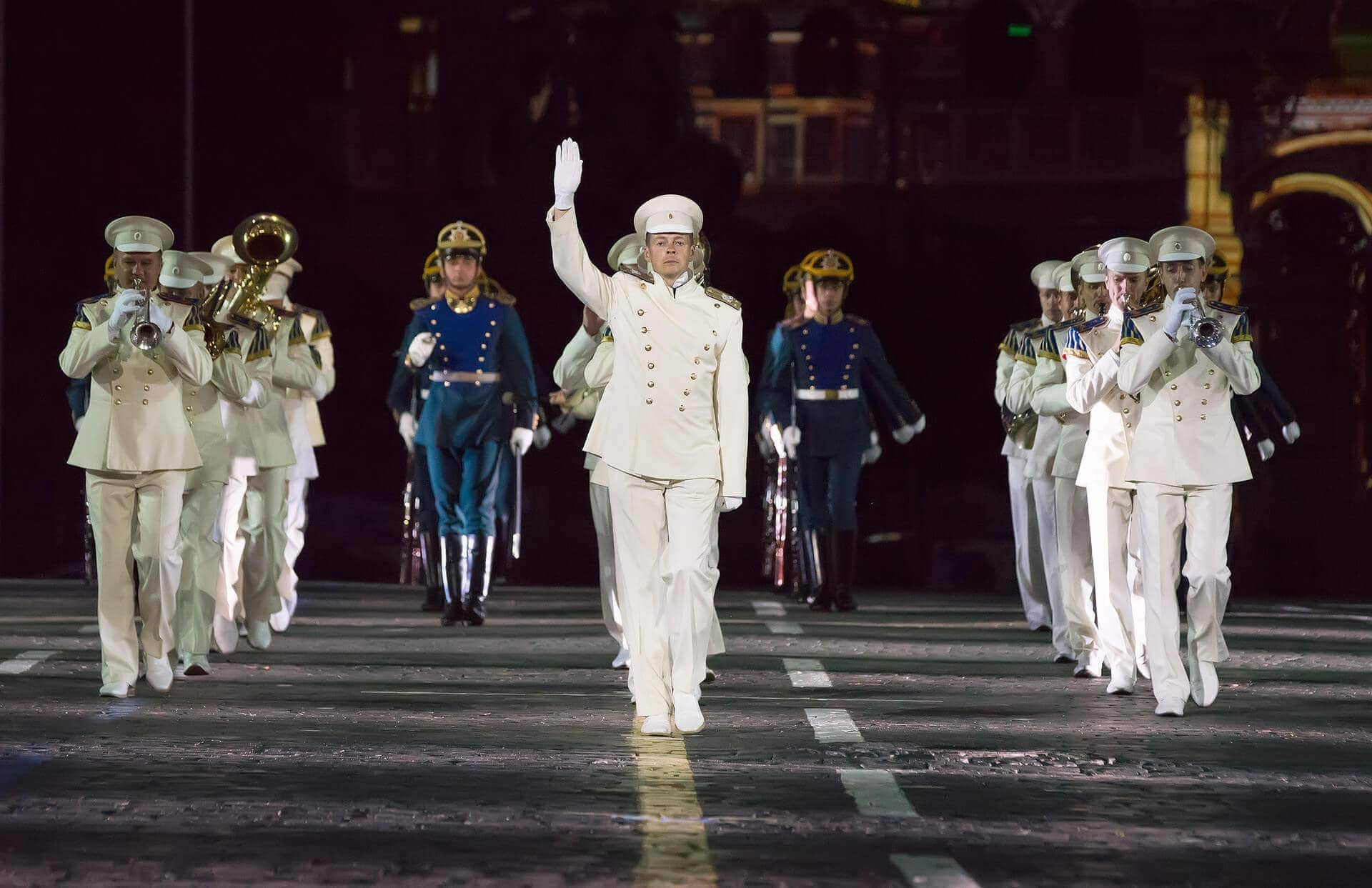 Президентский оркестр отмечает 80-летие