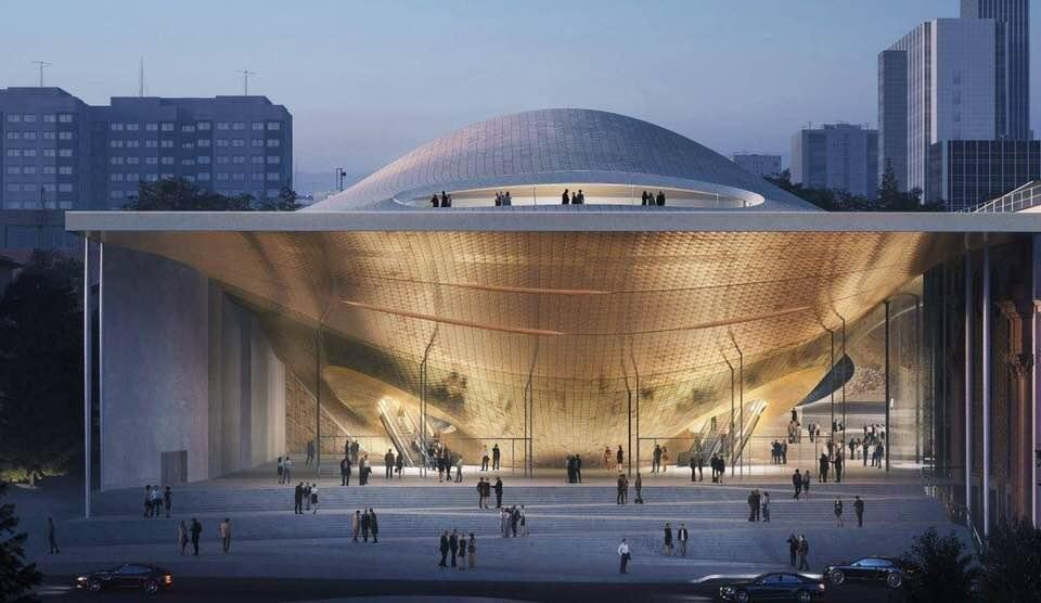 Проект нового зала Свердловской филармонии от Zaha Hadid Architects. Фото - Артем Устюжанин