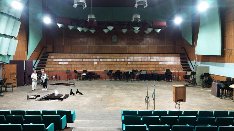 ГДРЗ, Большая концертная студия АСБ-5. Фото - Юлик Ягудин