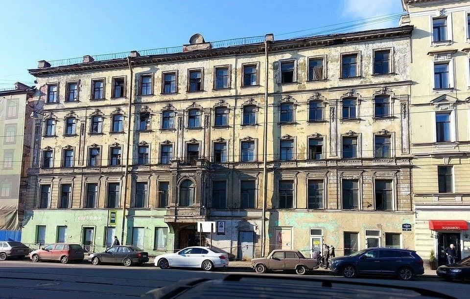 Дом Шаховской на Садовой улице в Санкт-Петербурге