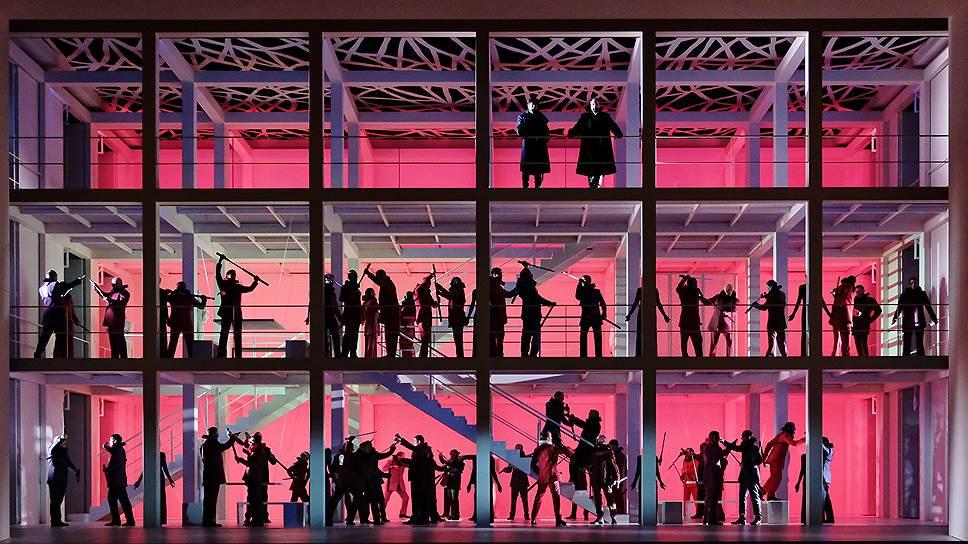 """""""Гугенотов"""" подали с кровью. Фото - Agathe Poupeney/Opera national de Paris"""