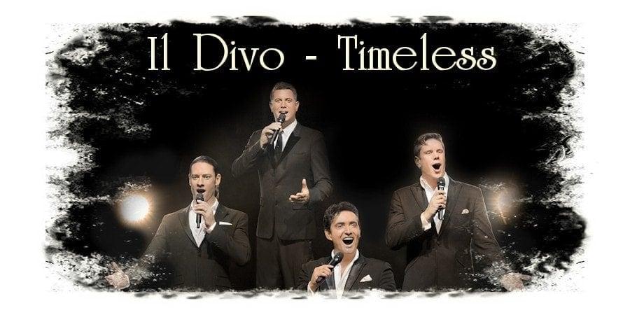 Квартет Il Divo в рамках мирового турне Timeless Tour дважды выступит в Москве