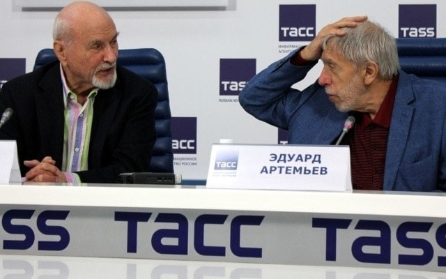 Владимир Минин и Эдуард Артемьев. Фото - Карэн Казаков